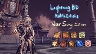 [Blade and Soul] Lightning BD Awakening Parse - War Song Edition