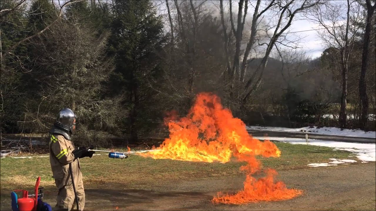 Homemade Paintball Flamethrower - Year of Clean Water