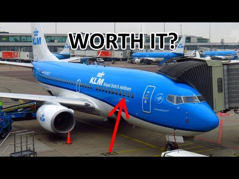 KLM Business Class in Europe - WORTH IT? | TRIP REPORT | Amsterdam - London | KLM 737-700 (BUSINESS)