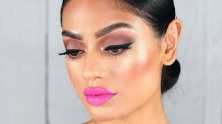 MAC boom boom bloom makeup tutorial | Full face of only new and old mac products