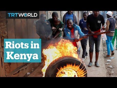 Kenya erupts into violence amid allegations of election fraud