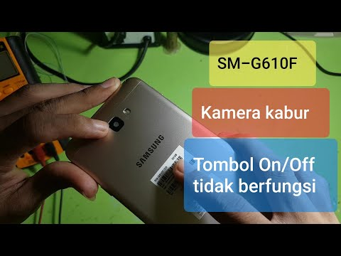 Samsung Galaxy J7 Prime SM-G610F/DS Tombol Power Tidak Berfungsi Dan Kamera Buram | Water Damage