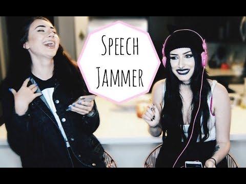 speech jammer challenge  Jade Graves