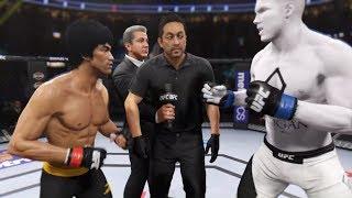 Bruce Lee vs. Renault Logan (EA Sports UFC 2) - CPU vs. CPU