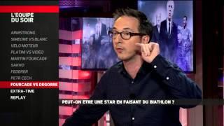 Martin Fourcade vs Damien Degorre