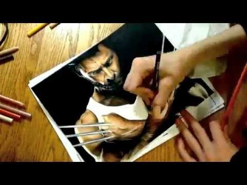 Wolverine Drawings In Pencil Easy