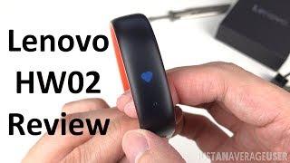 Lenovo HW02 Smart Band Review!