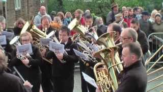 Whit Friday Brass Band Competition (2013), Denshaw, Saddleworth, England.