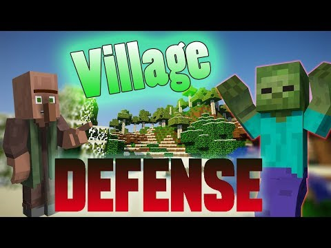 Minecraft Village Defense Plugin
