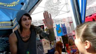 10 Year Old Girl Asked Beau Bokan from Blessthefall To Be Her Best Friend