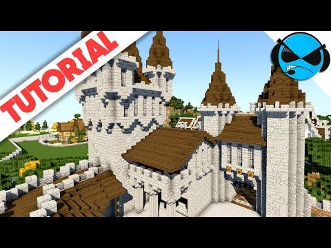 medieval minecraft castle tutorial