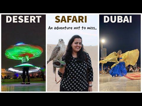 Dubai Desert Safari vlog | Sunset dune bashing with Land Cruiser | Tanoura dance | BBQ dinner