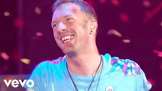 The Chainsmokers & Coldplay - Something Just Like This (Live at the BRITs) thumbnail