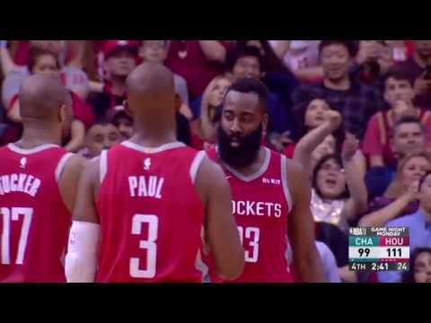 Charlotte Hornets vs Houston Rockets : March 11, 2019