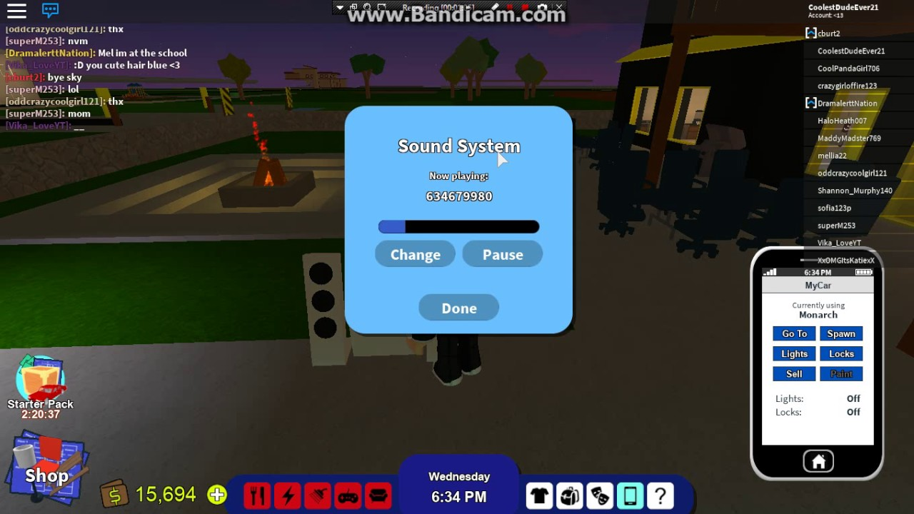 epic radio codes for roblox