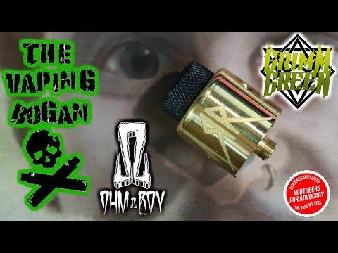 Rebel Recoil RDA   Grimm Green X Ohm Boy   The Vaping Bogan