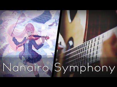 Nanairo Symphony - Shigatsu wa Kimi no Uso OP 2 (Acoustic Guitar)【Tabs】