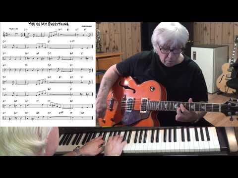 You're My Everything - Jazz guitar & piano cover ( Harry Warren )