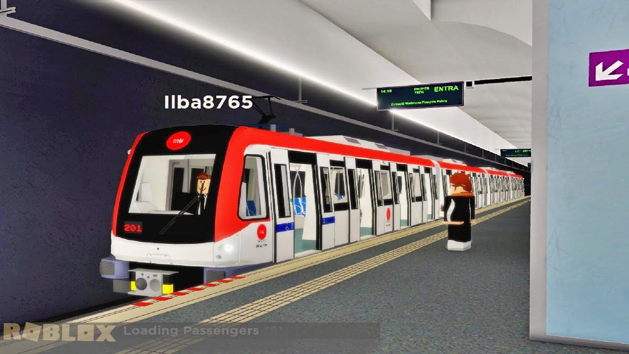 I set a Train to 999,999MPH into 4 SCHOOLBUS! (Roblox)