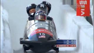 Cunningham 5th in Lake Placid 4-Man Bobsled - Universal Sports