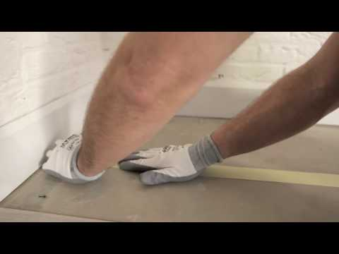 How to install a Quick-Step vinyl floor - glued down installation