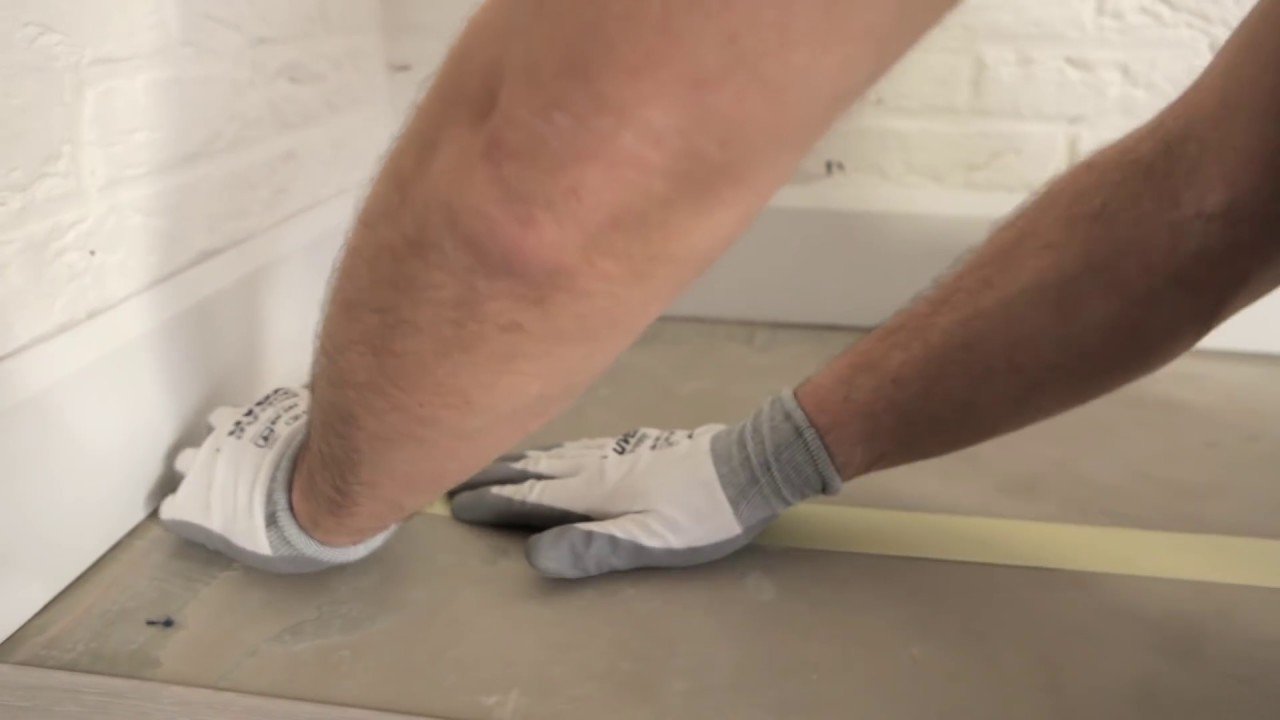 How to install a quick step vinyl floor glued down installation how to install a quick step vinyl floor glued down installation youtube jameslax Images