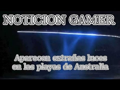 Aparecen extrañas luces en las playas de Australia | Vblogs | Noticion Gamer | ¿Fake o real?