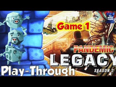 Pandemic Legacy Season 2 - Game 1