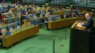 Выступление В.А.Небензи на заседании ГА ООН по положению на Ближнем Востоке