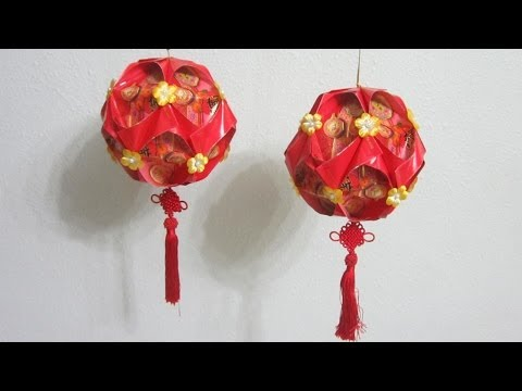 DIY Chinese New Year Lantern TUTORIAL 2