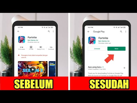 Cara Download Game Fortnite Mobile 100% Work Semua Merek HP Android