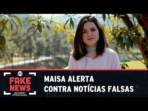 SBT Contra Notícias Falsas: Por causa de Justin Bieber, Maisa foi vítima de mentiras virtuais