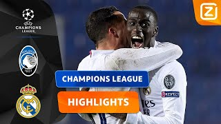 GEWELDIG! WAT EEN HELD! 😱 | Atalanta vs Real Madrid | Champions League 2020/21 | Samenvatting