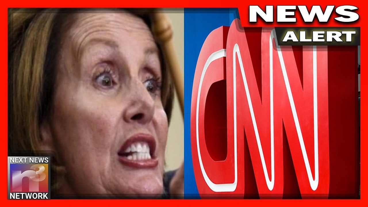 WATCH Pelosi BOTCH CNN Interview, Her Reaction When She's Called Out is Priceless!