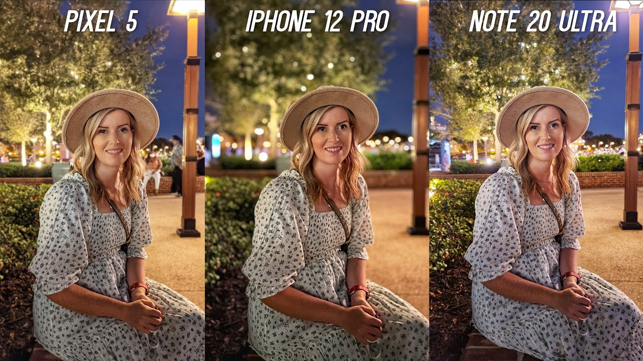 Download iPhone 12 Pro vs Galaxy Note 20 Ultra vs Pixel 5 Low Light Camera Test Comparison!