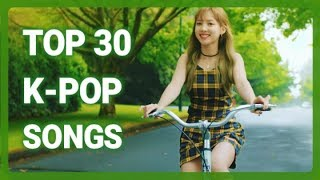K-VILLE STAFF CHART - TOP 30 K-POP SONGS OF NOVEMBER 2017 (WEEK 1)