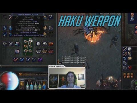 [PoE] Stream Highlights #16 - Decent Haku Weapon