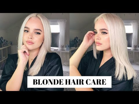 how-to-keep-bleach-blonde-hair-healthy!-updated-hair-care-routine-|-cassidysecrets