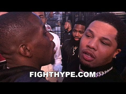 GERVONTA DAVIS AND TEVIN FARMER GO AT IT & TRADE WORDS; BRONER WATCHES, ERROL SPENCE STEPS IN
