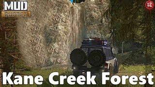 SpinTires MudRunner: NEW MAP! Kane Creek Forest
