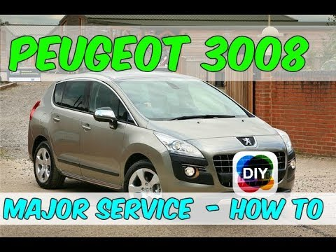 How To Change The Oil, Air & Fuel Filters In A Peugeot 3008  – DIY