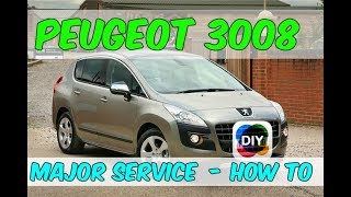 How To Change The Oil, Air & Fuel Filters In A Peugeot 3008  - DIY