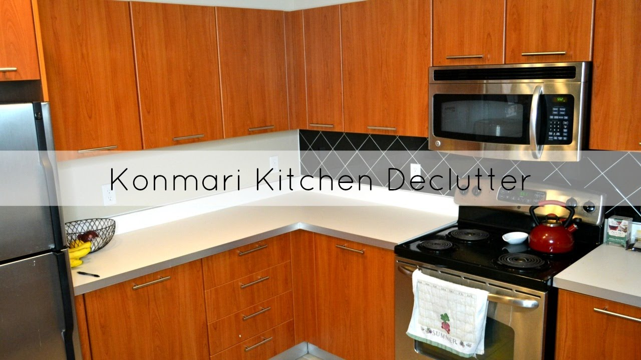 Journey To Minimalism  Konmari Kitchen Declutter
