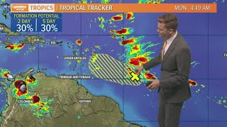 Monday Morning Tropical Update: Watching a tropical wave in the Atlantic