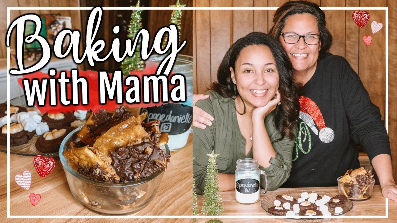 Quick Easy Christmas Treats Bake With Me Simple Holiday Dessert Ideas Page Danielle Youtube