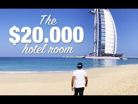 ليلة في برج العرب بقيمة 20.000 دولار #لؤي_ساهي