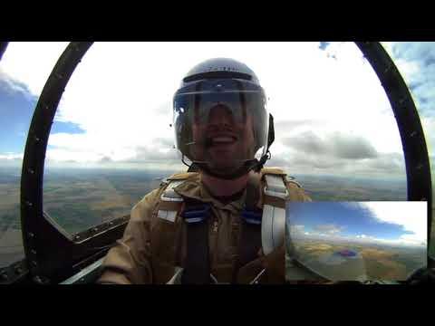 Spitfire flight for my 30th birthday at Duxford -ORIGINAL AUDIO-