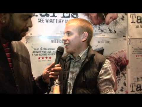 Jamie Howard (LAUGHING BOY) Interview for iFILM LONDON / THE TAPES PREMIERE (LEICESTER SQ)
