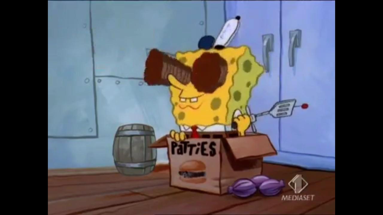 Spongebob italian help wanted deleted scene