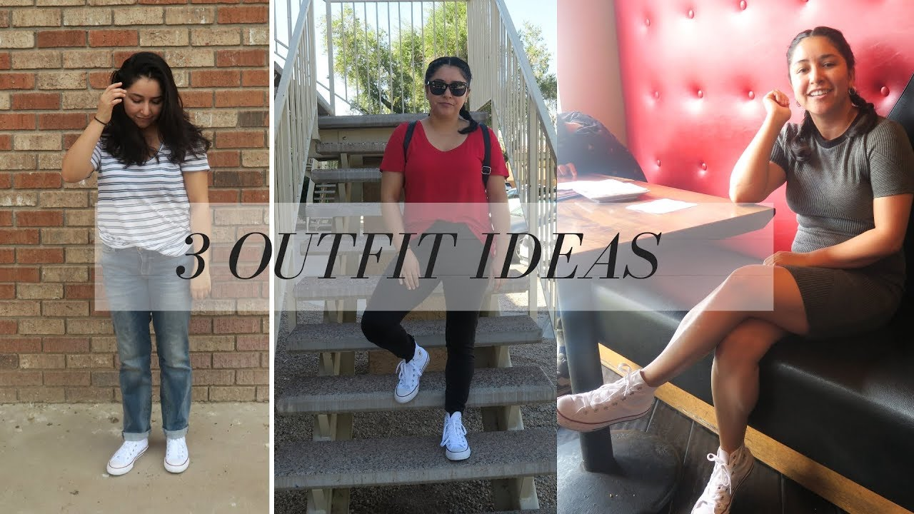 How To Style White Converse High Tops